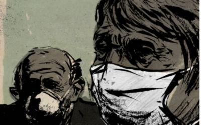 Una paziente confusa positiva al Covid 19
